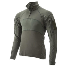 Sage Green; Massif - Advanced Quarter Zip Combat Shirt (FR) - HCC Tactical