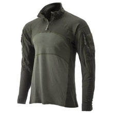 OD Green; Massif - Advanced Quarter Zip Combat Shirt (FR) - HCC Tactical