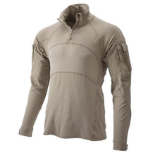 NV Tan; Massif - Advanced Quarter Zip Combat Shirt (FR) - HCC Tactical