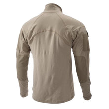 alt - NV Tan; Massif - Advanced Quarter Zip Combat Shirt (FR) - HCC Tactical