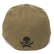 alt - Olive; Pipe Hitters Union American Flag Flexfit Hat - HCC Tactical