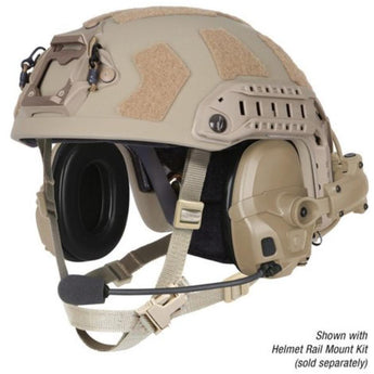 alt - Urban Tan; Ops-Core AMP Headset Connectorized - HCC Tactical
