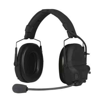 Black; Ops-Core AMP Headset Connectorized - HCC Tactical