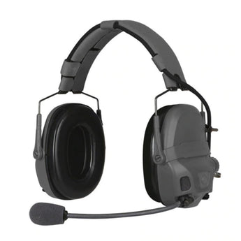 Urban Gray; Ops-Core AMP Headset Connectorized - HCC Tactical