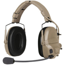 Urban Tan; Ops-Core AMP Headset Connectorized - HCC Tactical