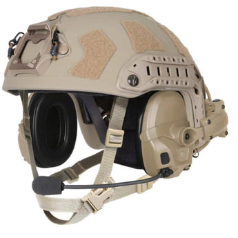 Ops-Core AMP Helmet Rail Mount View - HCC Tactical