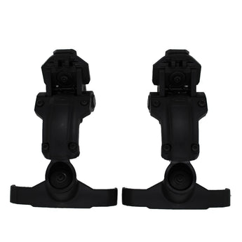 Black; Ops-Core AMP Helmet Rail Mount - HCC Tactical