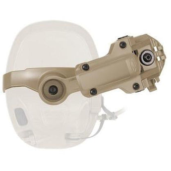 Urban Tan; Ops-Core AMP Helmet Rail Mount - HCC Tactical