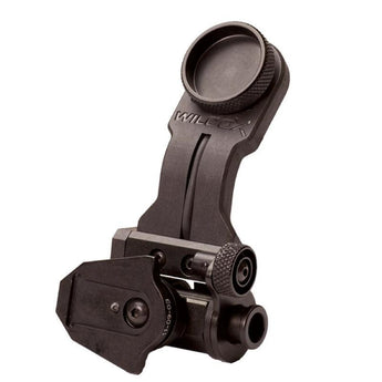 Black; Wilcox AN/PVS-14 Arm with NVG Interface Shoe - HCC Tactical