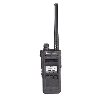 alt - Black; Motorola APX™ 1000 P25 Single-Band Portable Radio - HCC Tactical