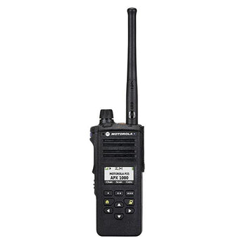 Motorola APX™ 1000 P25 Single-Band Portable Radio Model 2 - HCC Tactical