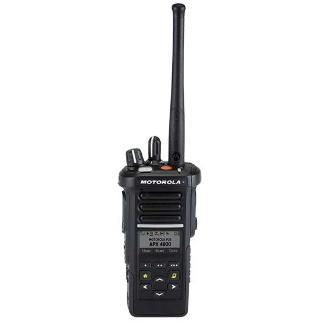 alt - Black; Motorola APX™ 4000 P25 Single-Band Portable Radio - HCC Tactical