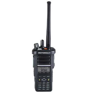 Black; Motorola APX™ 4000 P25 Single-Band Portable Radio - HCC Tactical