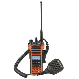 alt - M3 Orange; Motorola APX™ 4000XH P25 Portable Radio - HCC Tactical