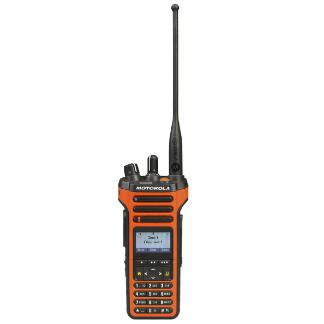 M3 Orange; Motorola APX™ 4000XH P25 Portable Radio - HCC Tactical