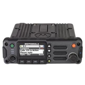 Motorola APX™ 4500 Single-Band P25 Mobile Radio front - HCC Tactical
