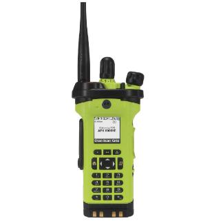 High Impact Green; Motorola APX™ 6000XE P25 Enhanced Portable Radio - HCC Tactical