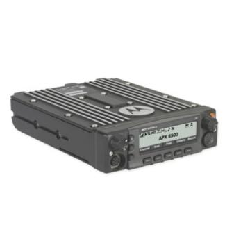 alt - Black; APX™ 6500 Single-Band P25 Mobile Radio - HCC Tactical