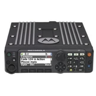 APX™ 6500 Single-Band P25 Mobile Radio Control Front - HCC Tactical