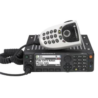 Black; APX™ 6500 Single-Band P25 Mobile Radio - HCC Tactical