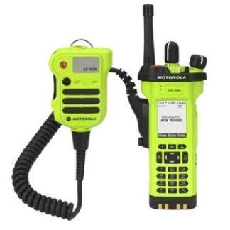 alt - High Impact Green; Motorola APX™ 7000XE Multi-Band P25 Portable Radio - HCC Tactical