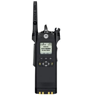 alt - Black; Motorola APX™ 8000H All-Band P25 Hazloc Portable Radio - HCC Tactical