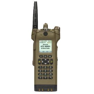 Coyote Brown; Motorola APX™ 8000H All-Band P25 Hazloc Portable Radio - HCC Tactical