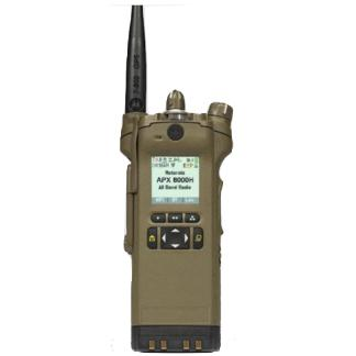 alt - Coyote Brown; Motorola APX™ 8000H All-Band P25 Hazloc Portable Radio - HCC Tactical