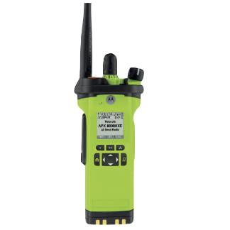 alt - High Impact Green; Motorola APX™ 8000HXE All-Band P25 Hazloc Portable Radio - HCC Tactical