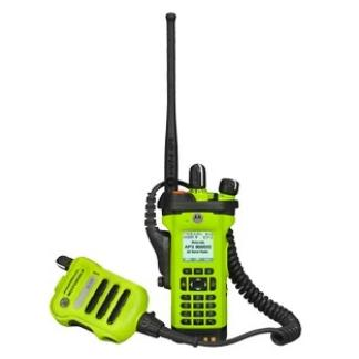 alt - High Impact Green; Motorola APX™ 8000XE All-Band Portable Radio - HCC Tactical