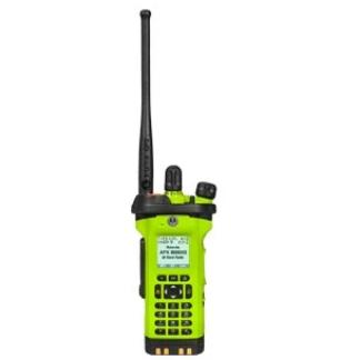 High Impact Green; Motorola APX™ 8000XE All-Band Portable Radio - HCC Tactical