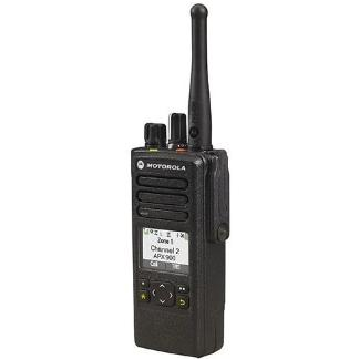 alt - Black; Motorola APX™ 900 Single-Band P25 Portable Radio - HCC Tactical