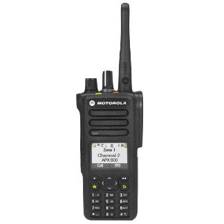 Black; Motorola APX™ 900 Single-Band P25 Portable Radio - HCC Tactical