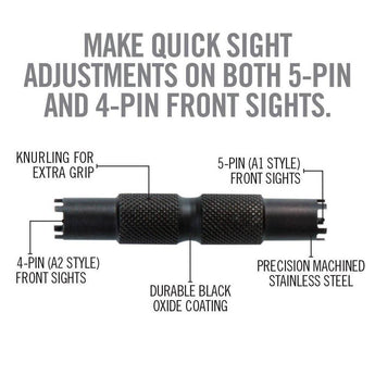 Real Avid - AR15 Front Sight Adjuster Tool 2 - HCC Tactical