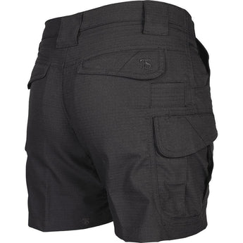 alt - Black; Tru-Spec Ascent Shorts for Women - HCC Tactical
