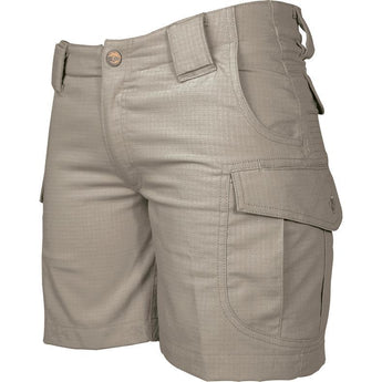 Khaki; Tru-Spec Ascent Shorts for Women - HCC Tactical