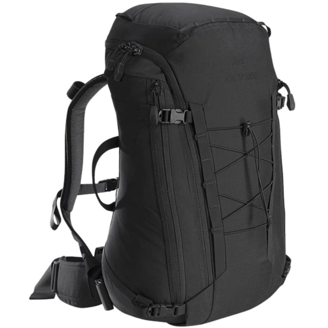 Black; Arc'teryx LEAF Assault Pack 30 - HCC Tactical