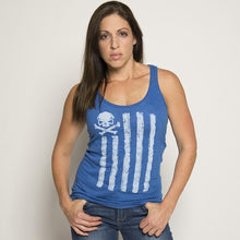 Blue; Pipe Hitters Union Battle Stripes Tank - HCC Tactical