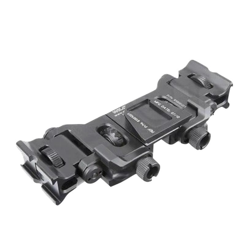 Black; Wilcox Binocular Bridge for MUM-14/GT-14 - HCC Tactical
