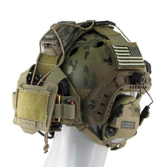 alt - Tan; Agilite Bridge Helmet System - HCC Tactical