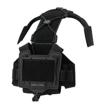 Black; Agilite Bridge Helmet System - HCC Tactical