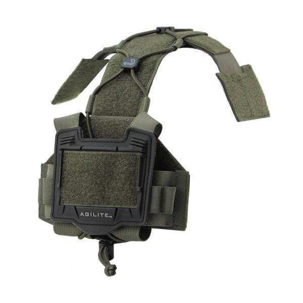 Ranger Green; Agilite Bridge Helmet System - HCC Tactical
