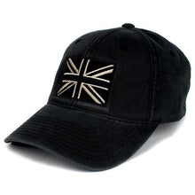 Black / Pewter; Pipe Hitters Union British Flag Flexfit Hat - HCC Tactical