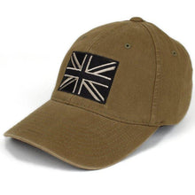 Olive; Pipe Hitters Union British Flag Flexfit Hat - HCC Tactical