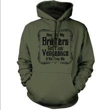 Military Green; Pipe Hitters Union Brother's Vengeance Hoodie - HCC Tactical