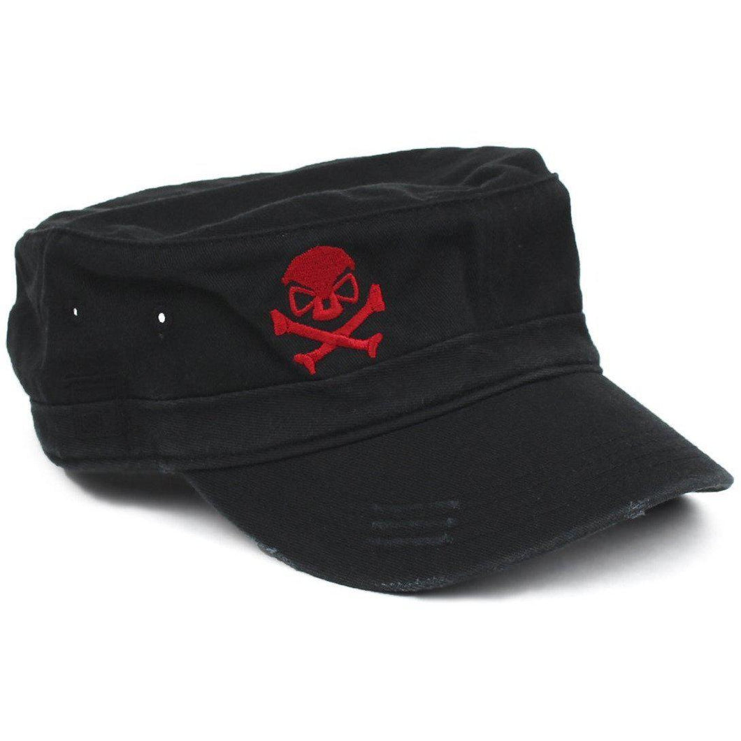 Black / Red; Pipe Hitters Union Fidel Hat - HCC Tactical