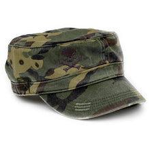 Woodland Camo / Gray; Pipe Hitters Union Fidel Hat - HCC Tactical