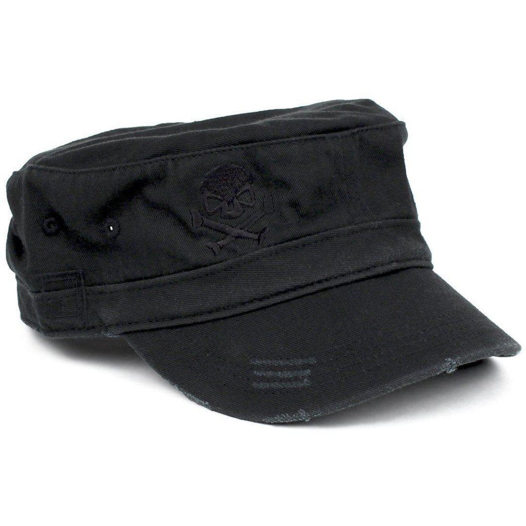 Black; Pipe Hitters Union Fidel Hat - HCC Tactical