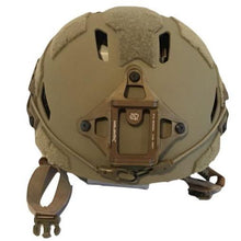 Galvion Caiman Bump Helmet Tan Front - HCC Tactical