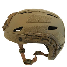 Galvion Caiman Bump Helmet Tan Side Strap - HCC Tactical